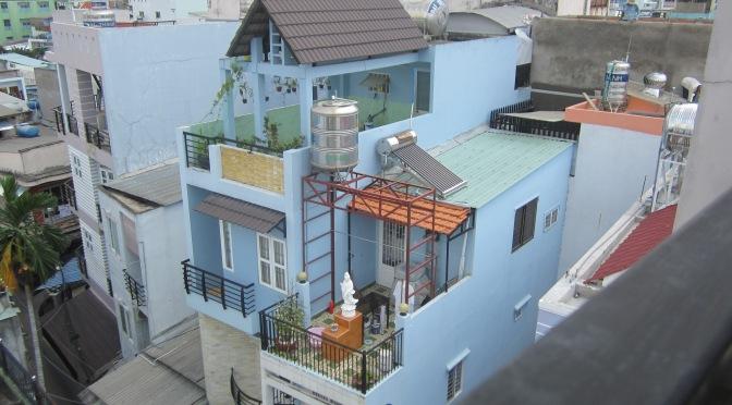 Les maisons d'Ho Chi Minh Ville