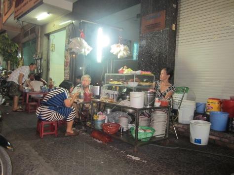 Un restaurant de rue