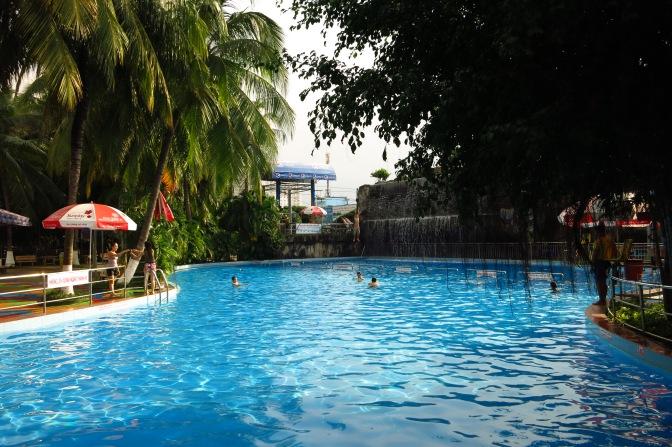Le parc aquatique de Dam Sen