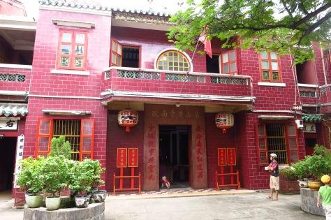 L'entrée de la pagode Khanh Van Nam Vien