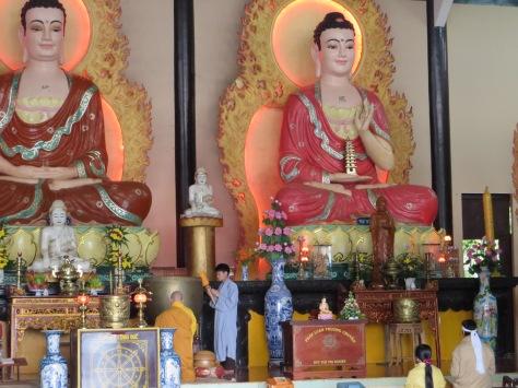 Le bouddha heureux