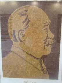 Un portrait en gris de riz