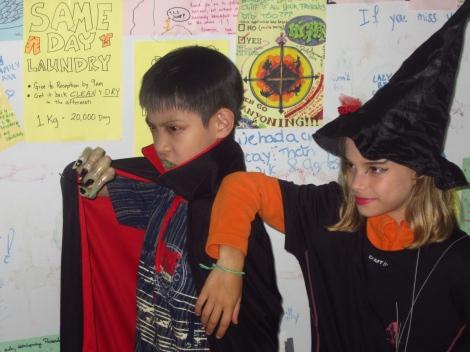 Vampire et sorcière