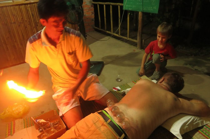 Massage à la vietnamienne