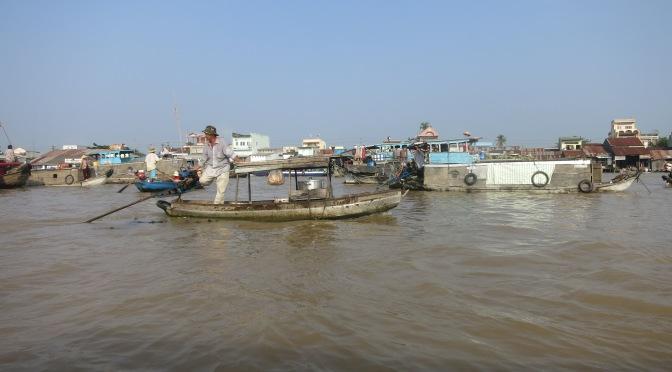 Escapade au marché flottant de Can Tho
