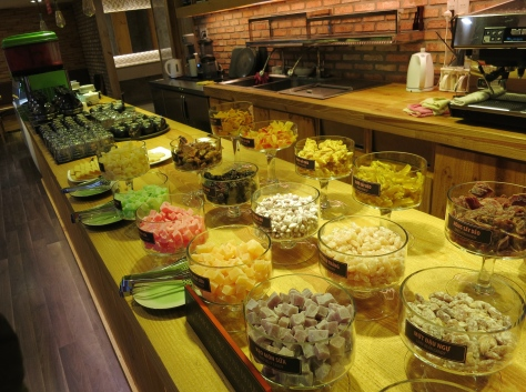 Le buffet de sucreries