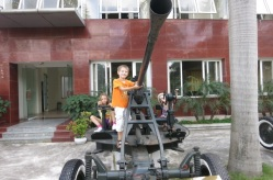 Un canon antiaérien