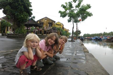 Au bord de l'eau à Hoi An