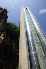 Le grand ascenseur de verre