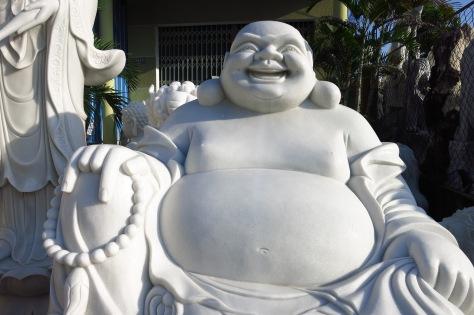Un bouddha heureux