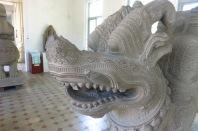 Détail du dragon