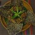 Une exquise salade de fleur de lotus