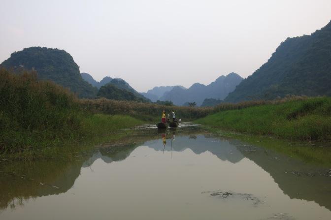 Superbes paysages à Tam Coc
