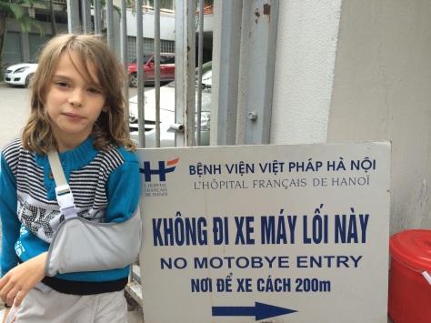 La sortie de l'hôpital avec le sourire