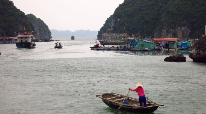 Les baies de Lan Ha et d'Halong