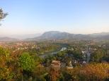Vue du sommet du mont Phu si