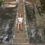 Un escalier bien raide