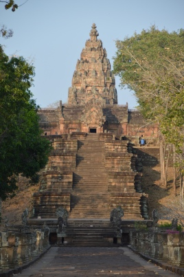 Le majestueux escalier du Phanom Rung