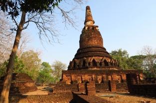 Le Wat Phra That est situé près du centre-ville