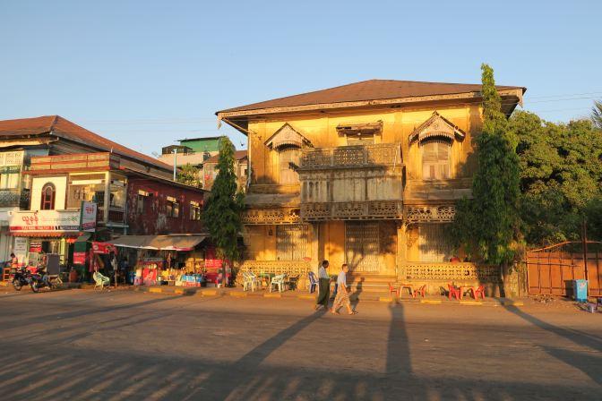 La ville coloniale de Mawlamyine et ses environs