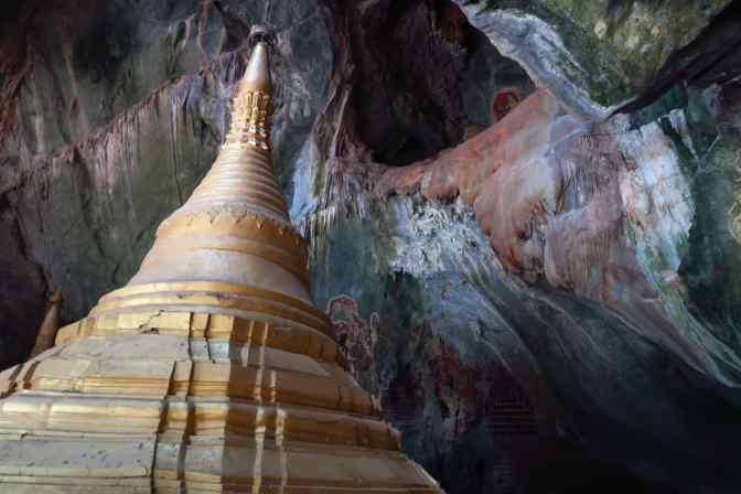 Les grottes de Hpa-An