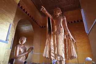 Un bouddha de la colline de Mandalay