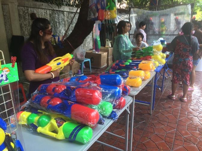 Songkran, la fête de l'eau