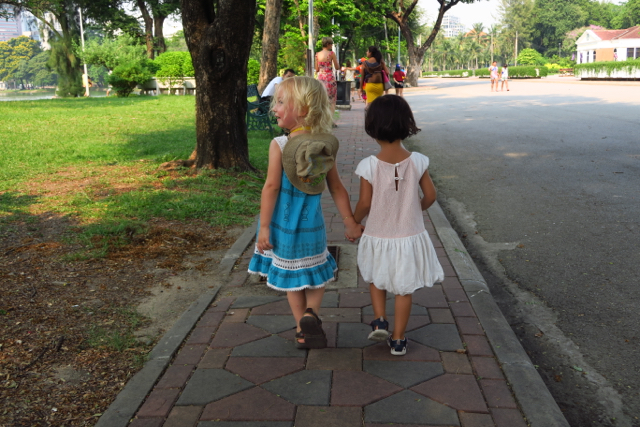 Bangkok avec les enfants