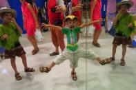 Au musée des enfants, illusions d'optique