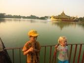 Le lac Kawdangyi