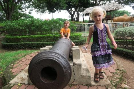 Près du fort portugais