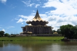Le parlement du Sarawak, une architecture originale