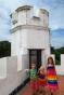 En haut du fort Margerita