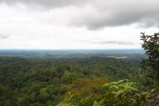 Vue sur Bornéo