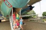 Dans le parc de Taman Mini: le musée des transports
