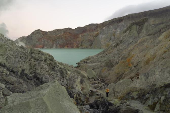Ascension nocturne du volcan Kawah Ijen