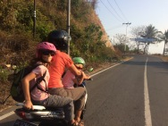 Arrivée à Sumbawa à la recherche d'un hôtel