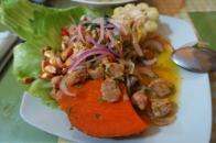 Un plat végétarien