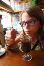 Lise apprécie moins la boisson de quinoa