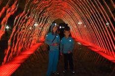 Un tunnel d'eau