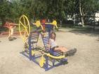 Dans le parc