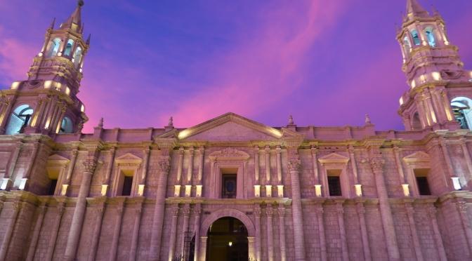 Visites guidées des monuments d'Arequipa