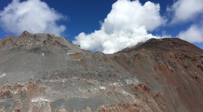 Volcans et glaciers