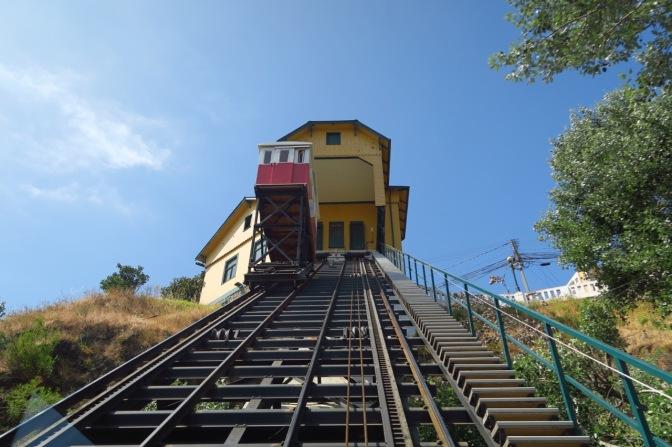 Les ascenseurs de Valparaiso