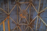 Détail de l'intérieur de l'église d'Achao