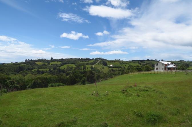 Sur l'île de Chiloé