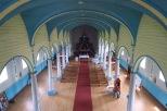 A l'intérieur de l'église de Rilan