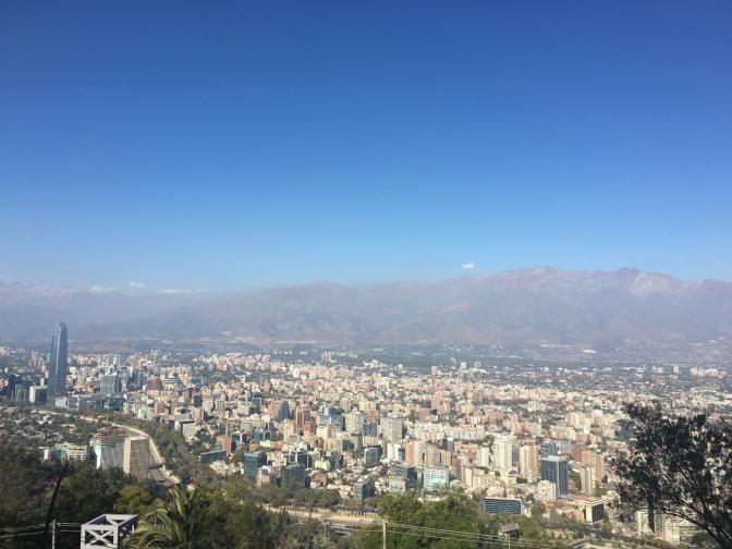 Escale technique à Santiago