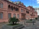 La casa rosada, siège du gouvernement