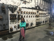 La salle de contrôle de l'usine